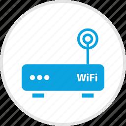antenna, electronic, gadget, single, wifi icon