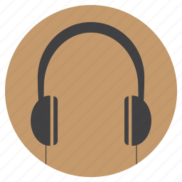 cable, ear, electronic, headphone, music, wireless icon