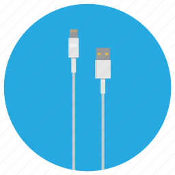 cable, charger, compatibility, electronic, ipad, ipadcharcher, white icon