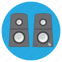 electronic, loud, loudspeaker, music, rep, sound icon