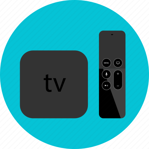 apple, controller, tv icon
