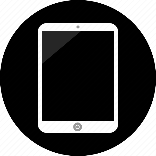 electronic, ipad, pad icon