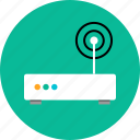 antenna, router, single icon
