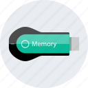 data, save, stored, usb icon