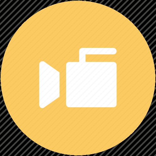 device, film camera, multimedia, video camera, video production, video recording icon