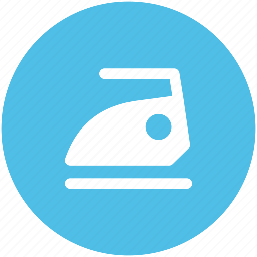 domestic tool, electrical, home appliance, iron, ironing concept, laundry icon