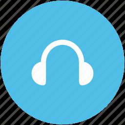 audio listening, earbuds, earphone, handsfree, headphone, headset, sound icon