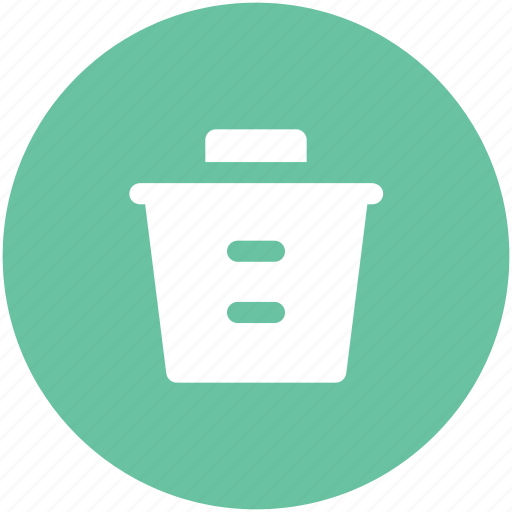 bin, delete, dustbin, remove, trash bin, trashcan icon