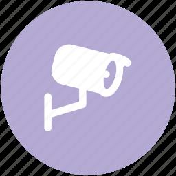 cctv, cctv camera, inspection, monitoring, security camera, spying, surveillance icon