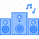 appliances, electronics, gadget, music, speaker, subwoofer, technology icon
