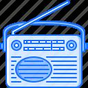 appliances, electronics, gadget, radio, retro, technology