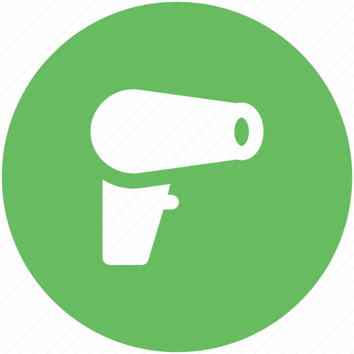 blow dryer, electronics, hair accessories, hair dryer, hair salon, salon electricals icon