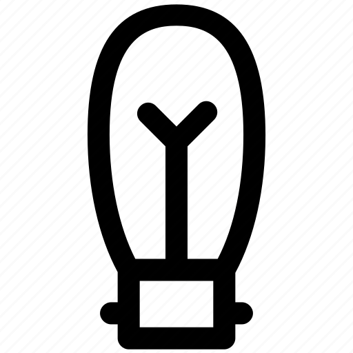 bulb, electric bulb, lamp, light, light bulb icon
