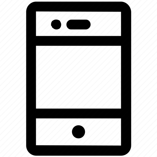 .svg, cell phone, cellular phone, iphone, mobile, smartphone icon