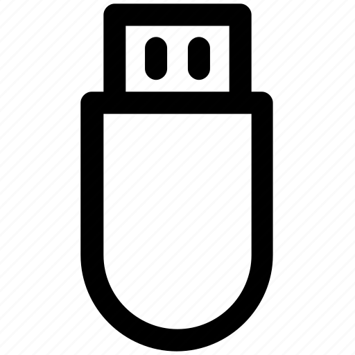 .svg, memory stick, pen drive, usb, usb stick icon