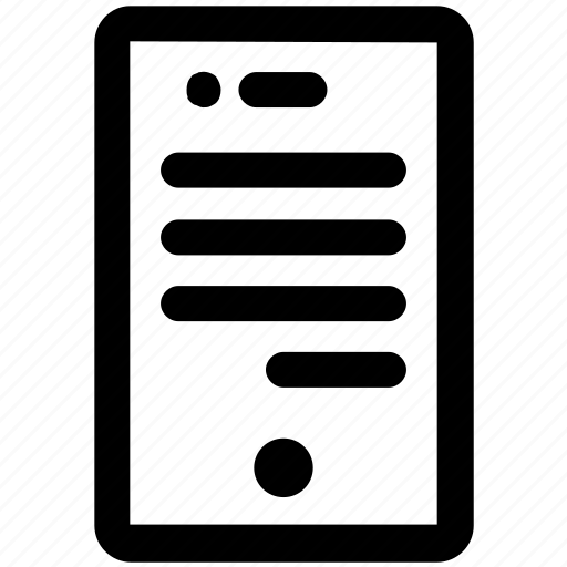 .svg, cell phone, chat, conversions, mobile, phone, text icon