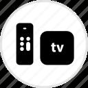 apple, electronics, tech, tv icon
