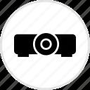 electronics, film, tech icon