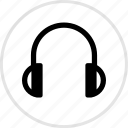 electronics, gadget, headphones icon