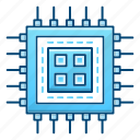 computer, cpu, hardware, microchip, processor, technology icon