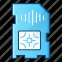 card, communication, mobile, sim