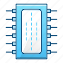 circuit, component, cpu, electronic, processor icon