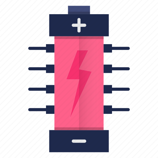 battery, charging, electricity, electronics, energy, power icon