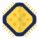 component, core, cpu, hardware, microchip, processor icon