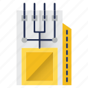 chip, component, electronics, hardware, microchip, module, storage icon