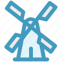 eco, energy, mill, wind, windmill, windy icon