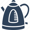 cordless, electric kettle, electricals, kitchen appliance, tea kettle icon