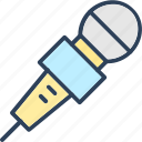 audio, mic, microphone, music, sound icon