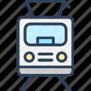 electric train, locomotive, train, tram, tramcar