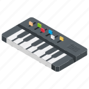 keyboard player, music keyboard, musical instrument, piano, piano sound icon