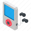 ipod, ipod player, media device, music player, playing device icon