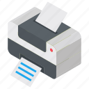 computer printer, output device, printer, printing machine, wireless printer icon