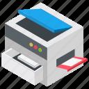 copy machine, photocopier, photocopy machine, printing machine, xerox machine icon