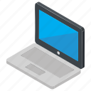 computer, laptop, laptop device, netbook, notebook icon