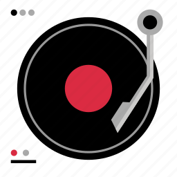 audio, dj, mixer, music, play, player icon