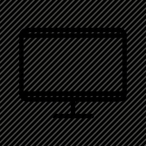 computer, electronic, flatscreen, modern, monitor, personal icon