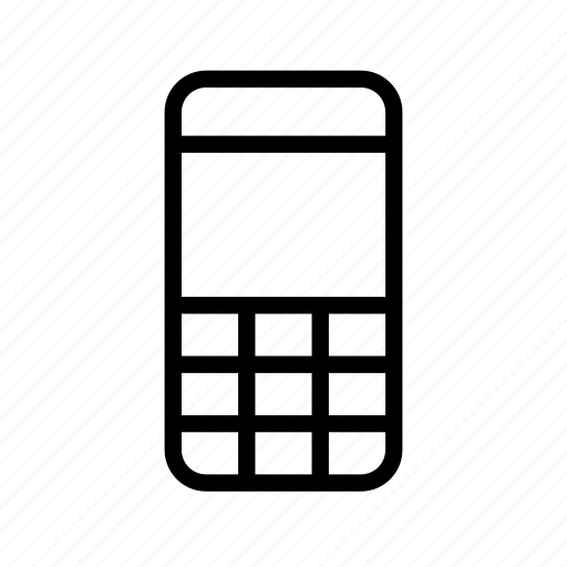 call, cell, electronic, mobile, old, phone icon