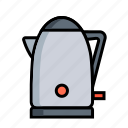 hot, kettle, kitchen, pot, tea, teakettle, teapot icon