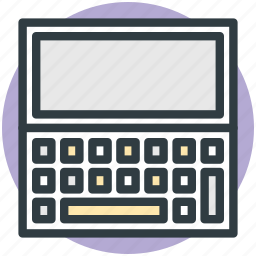 laptop, laptop pc, mac, mini computer, notebook icon
