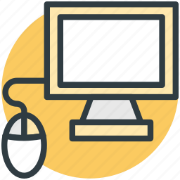 computer, computer devices, computer mouse, lcd, monitor icon