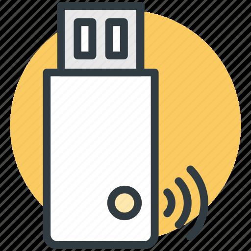 usb adapter, usb internet, usb modem, usb network adapter, wifi adapter icon