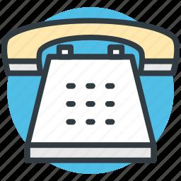 communication, phone call, phone set, telephone, vintage telephone icon