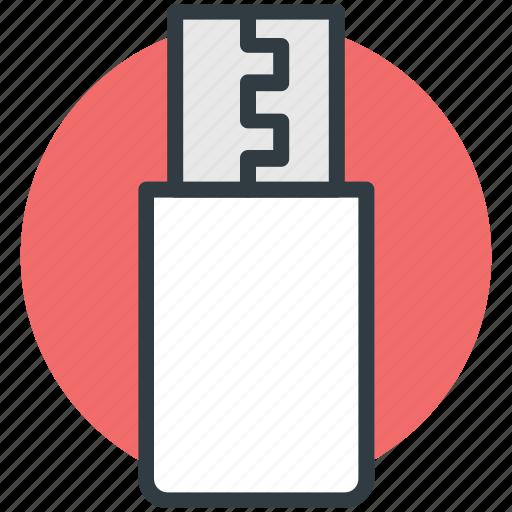 flash drive, memory stick, pen drive, usb, usb stick icon
