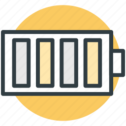 battery charging, battery level, battery status, full battery, mobile battery icon