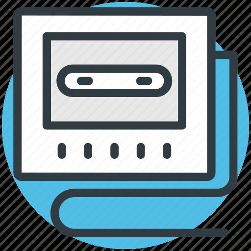 cassette deck, cassette player, media, tape player, walkman icon