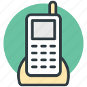 communication, cordless phone, digital phone, electronics, portable telephone icon